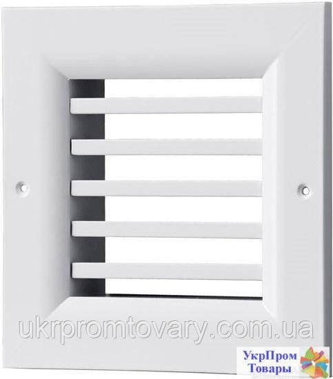 Решетка однорядная нерегулируемая Вентс VENTS ОНГ 1 240х240, вентиляторы, вентиляционное оборудование