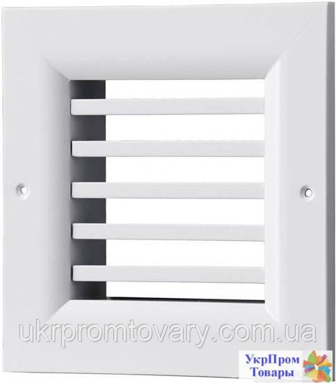 Решетка однорядная нерегулируемая Вентс VENTS ОНГ 1 340х200, вентиляторы, вентиляционное оборудование