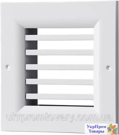 Решетка однорядная нерегулируемая Вентс VENTS ОНГ 1 340х200, вентиляторы, вентиляционное оборудование, фото 2