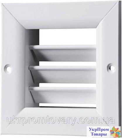 Решетка однорядная регулируемая Вентс VENTS ОРВ 340х300, вентиляторы, вентиляционное оборудование, фото 2