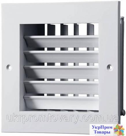Приточно-вытяжная решетка Вентс VENTS ДР 240х240, вентиляторы, вентиляционное оборудование, фото 2