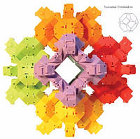 Конструктор головоломка Fat Brain Toys  - Черепашки акробаты Reptangles