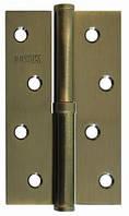 Дверные петли разъемные стальные USK 100*63*2.5-1BB