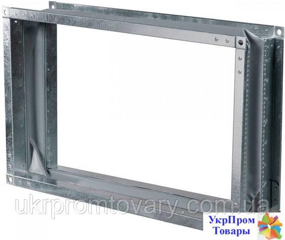 Гибкая вставка Вентс VENTS ВВГ 500х250, вентиляторы, вентиляционное оборудование, фото 2
