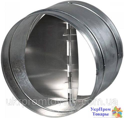 Обратный клапан Вентс VENTS КОМ 125, вентиляторы, вентиляционное оборудование, фото 2