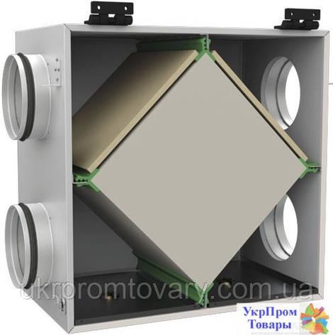 Пластинчатый рекуператор для круглых каналов Вентс VENTS ПР 150, вентиляторы, вентиляционное оборудование БЕСПЛАТНАЯ ДОСТАВКА ПО УКРАИНЕ, фото 2