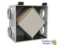 Пластинчатый рекуператор для круглых каналов Вентс VENTS ПР 160, вентиляторы, вентиляционное оборудование БЕСПЛАТНАЯ ДОСТАВКА ПО УКРАИНЕ