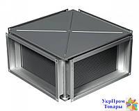 Пластинчатый рекуператор для прямоугольных каналов Вентс VENTS ПР 600х350, вентиляторы, вентиляционное оборудование БЕСПЛАТНАЯ ДОСТАВКА ПО УКРАИНЕ