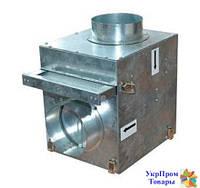 Смесительная камера для каминных вентиляторов Вентс VENTS КФК 125, вентиляторы, вентиляционное оборудование БЕСПЛАТНАЯ ДОСТАВКА ПО УКРАИНЕ