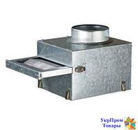 Фильтр для каминных вентиляторов Вентс VENTS ФФК 125, вентиляторы, вентиляционное оборудование БЕСПЛАТНАЯ ДОСТАВКА ПО УКРАИНЕ