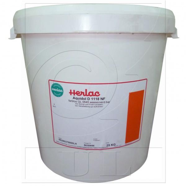 1-К Акриловый водоразбавляемый многослойный лак Aquidol D1118NF HERLAC (25кг.)