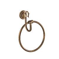 """Кольцо для полотенец """"Versace"""" (бронза)"""