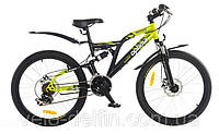 Подростковый велосипед Optima MESSER DD 24
