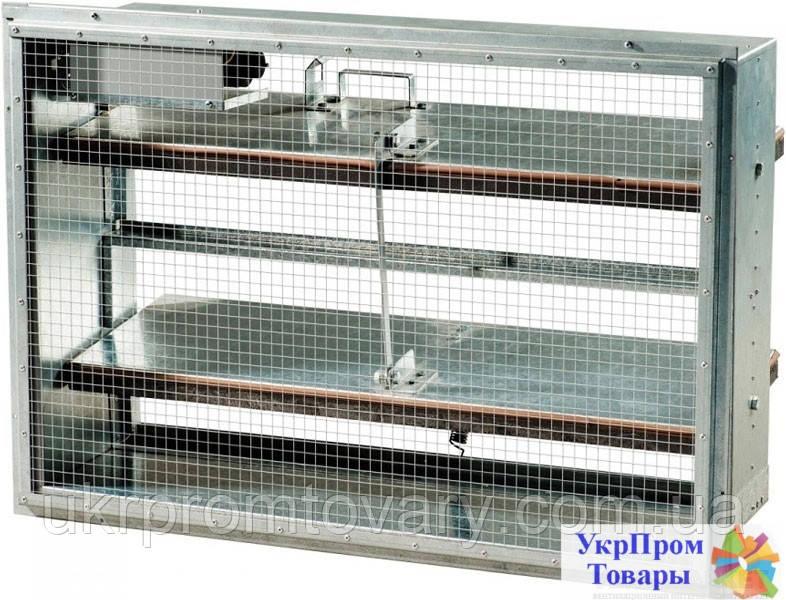 Клапан противопожарный дымовой универсаотный Вентс VENTS КПДУ 500х400-2-ЕМ220/24-ВН-С, вентиляторы, вентиляционное оборудование