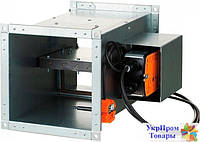 Клапан противопожарный огнезадерживающий Вентс VENTS КП-1-0-Н-500x400-2-BLF230-T-CH-0, вентиляторы, вентиляционное оборудование БЕСПЛАТНАЯ ДОСТАВКА ПО