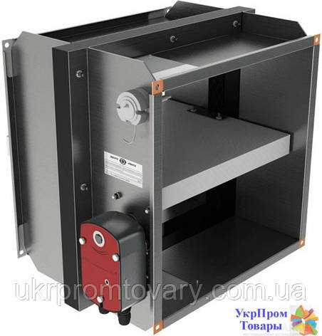 Клапан противопожарный огнезадерживающий Вентс VENTS КП-2-О-Н-1000х800-2-BF230-T-СН-О, вентиляторы, вентиляционное оборудование, фото 2