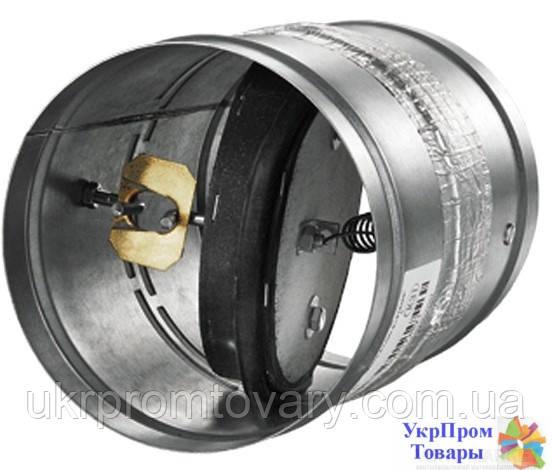 Клапан противопожарный огнезадерживающий Вентс VENTS ПЛ-10-1А-ДН 160, вентиляторы, вентиляционное оборудование