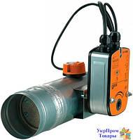 Клапан противопожарный огнезадерживающий Вентс VENTS ПЛ-10-2-BLF230-T (BLF24-T)-ДН 150, вентиляторы, вентиляционное оборудование БЕСПЛАТНАЯ ДОСТАВКА