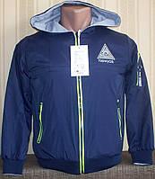 Куртка ветровка двусторонняя для мальчиков 134, 152 Венгрия