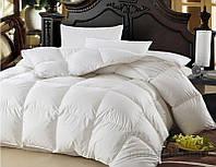 Одеяло пуховое кассетное Зима плюс MirSon Raffaello белый пух 100 % Премиум 053 особо теплое 155х215 см вес 1600 г.