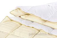 Одеяло для ребенка пуховое кассетное Деми MirSon Carmela белый пух 100 % Премиум 032 демисезонное 110х140 см вес 460 г.