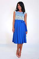 Платье стильное молодежное нарядное Кармен  размеры 42, 44, 46, 48, 50