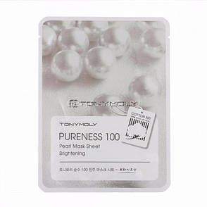 Тканевая маска c экстрактом жемчуга Pureness 100 Pearl Mask Sheet Brightening, фото 2