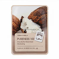 Тканевая маска с маслом ши Tony Moly Pureness 100 Shea Butter Mask Sheet