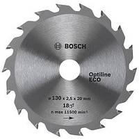 Диск пильный Bosch Optiline Wood ECO 190 Z24, посадка 20/16