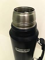 Термос STANLEY Classic Hertiage 1 L - Тёмно-синий (10-01254-042), фото 3