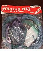 Рыболовная сеть Финка 25 ячейка, одностенная, изготовлено из качественной лески