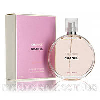 Женская туалетная вода Chanel Chance Eau Vive 100 ml (Шанель Шанс о Вив)