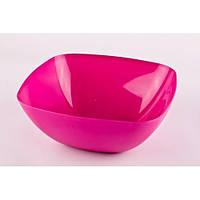 Салатница глубокая «АЛЕАНА» (2,5 л, 24х24х9,5 см, полипропилен, Украина, цвета в ассортименте)