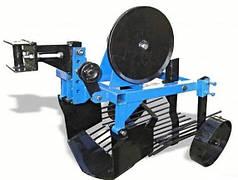 Картоплекопач вібраційний КП-01Л, ширина захвату 400мм, глибина до 180мм, вага 34кг