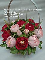 """Букет роз из конфет """"Восхищение""""№15"""