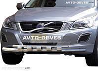 Защита переднего бампера для Volvo XC60 Ø60*60