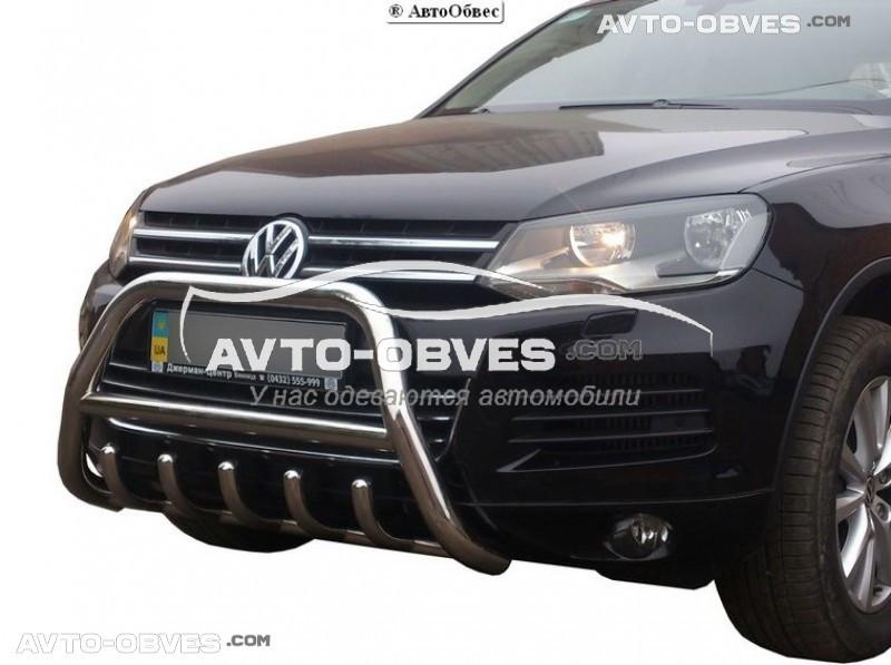 Штатный кенгурятник для Volkswagen Touareg 2010-2017