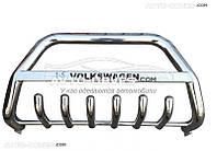 Штатный кенгурятник для VW Transporter T5+ с логотипом