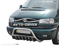 Кенгурятник для VW T4 с логотипом