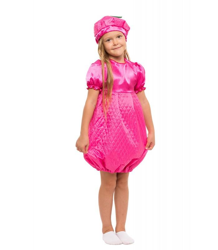 Карнавальный костюм Малинки весенний осенний на праздник Весны Осени (4-8 лет)