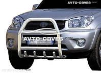 Защитная дуга переднего бампера Toyota Rav-4 2000-2006 (п.к. RR04)