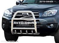 Защитная дуга переднего бампера Toyota Rav-4 2006-2012 (п.к. RR04)