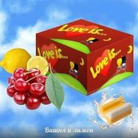 """Легендарные жвачки """"Love is"""" вишня - лимон"""