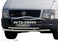 Двойная защита переднего бампера для VW LT
