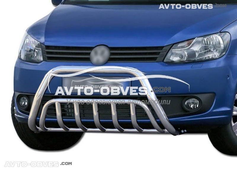 Защита переднего бампера для Volkswagen Caddy