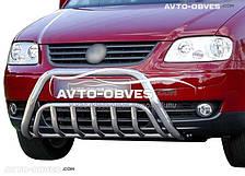 Защитный обвес переднего бампера VolksWagen Caddy