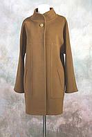 Пальто  кокон оверсайз кашемировое М-642