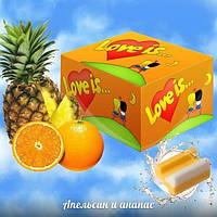 "Легендарные жвачки ""Love is"" апельсин - ананас"