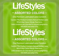 Презервативы LifeStyles Assorted Colors (разноцветные)