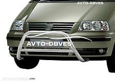 Кенгурятник без гриля VW Sharan  п.к. RR006